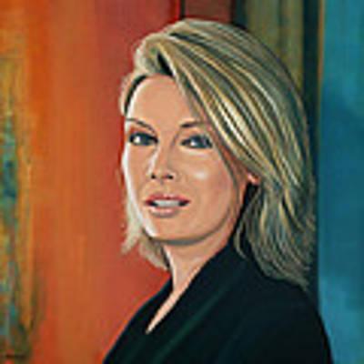Kim Wilde Painting Original by Paul Meijering