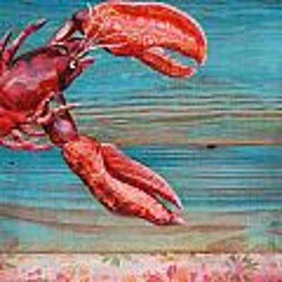 Lobster Blissque Art Print by Danny Phillips