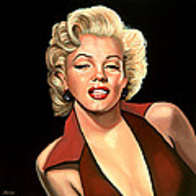 Marilyn Monroe 4 Original by Paul Meijering