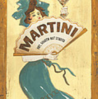 Martini Dry Art Print