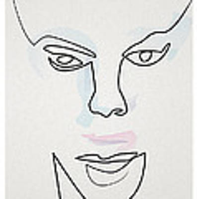 Mask Art Print by Quibe Sarl