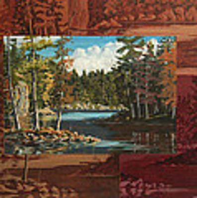 Mink Lake Exit Art Print by David Gilmore