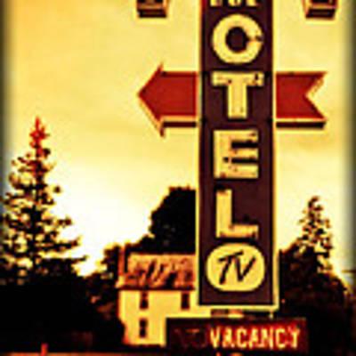 Motel Hell Art Print