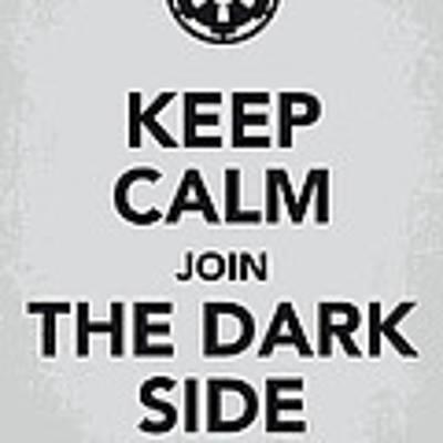 My Keep Calm Star Wars - Galactic Empire-poster Art Print by Chungkong Art