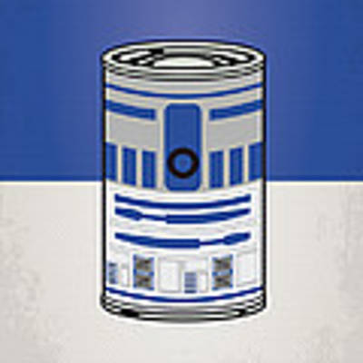 My Star Warhols R2d2 Minimal Can Poster Art Print by Chungkong Art