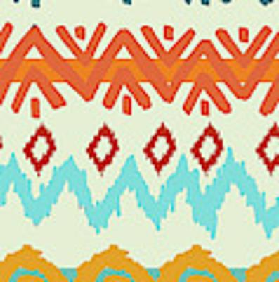 Navajo Missoni I Art Print