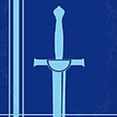 No034 My Highlander Minimal Movie Poster.jpg Art Print by Chungkong Art