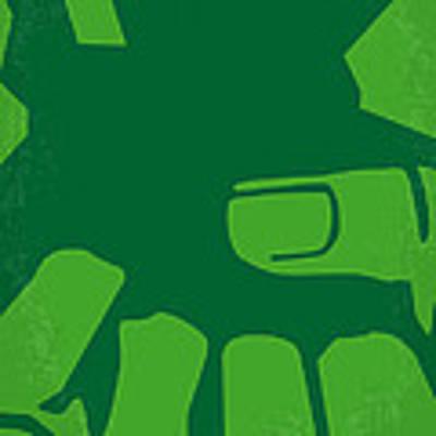 No040 My Hulk Minimal Movie Poster Art Print by Chungkong Art