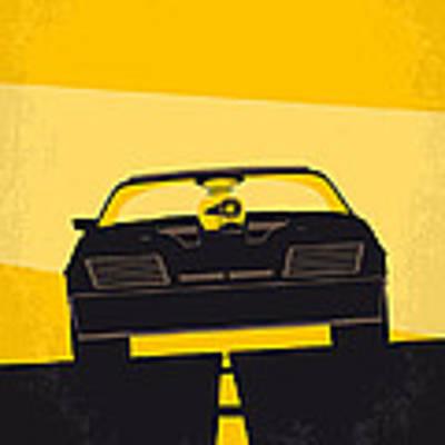 No051 My Mad Max Minimal Movie Poster Art Print by Chungkong Art