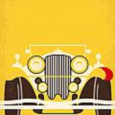 No206 My The Great Gatsby Minimal Movie Poster Art Print