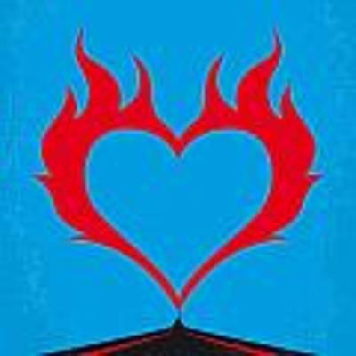 No337 My Wild At Heart Minimal Movie Poster Art Print by Chungkong Art