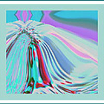 Ocean Deco - Ticker Symbol Jamn 7/5/2011 To 8/1/2011 Art Print by Stephen Coenen