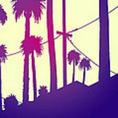 Palms 2 Art Print by Giuseppe Cristiano
