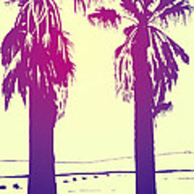 Palms Art Print by Giuseppe Cristiano