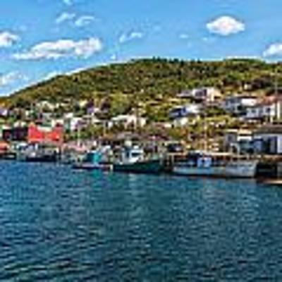 Petty Harbour Newfoundland Art Print by Perla Copernik