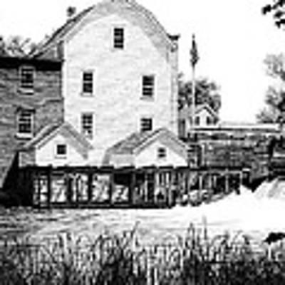 Phelps Mill Art Print by Rob Christensen