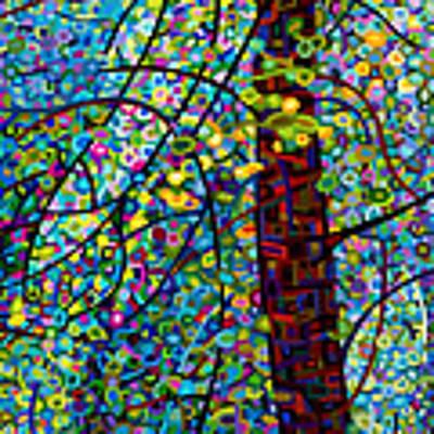 Pine Sprites Art Print