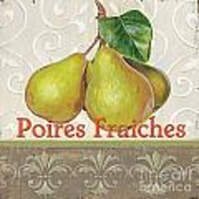 Poires Fraiches Original by Debbie DeWitt