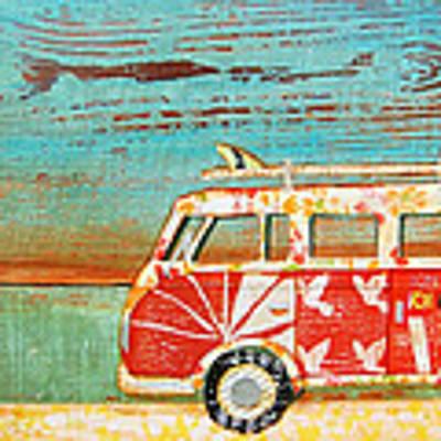 Santa Cruise Art Print