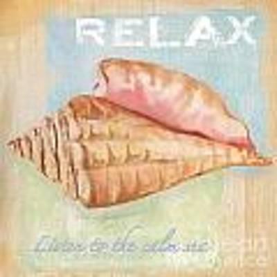 Seaside Retreat-a Art Print by Jean Plout
