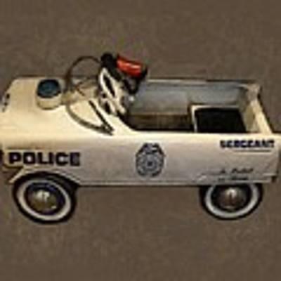 Sergeant Pedal Car Art Print