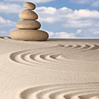 Stone Balance Art Print by Dirk Ercken
