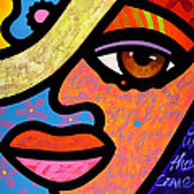 Sweet City Woman Art Print