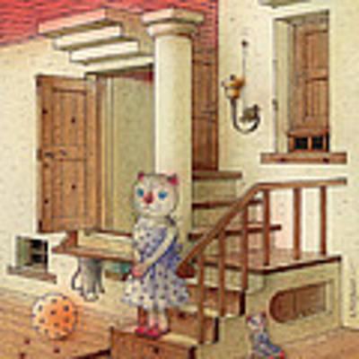 The Dream Cat 06 Art Print