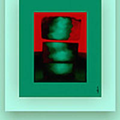 The Red Shine Art Print by Mihaela Stancu