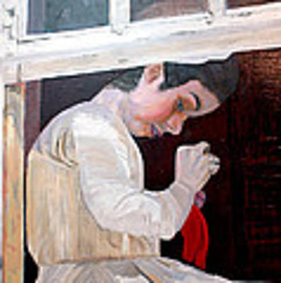 Through A Window Original by Randy Bell