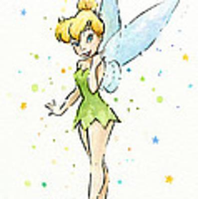 Tinker Bell Art Print