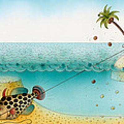 Underwater Story 03 Art Print