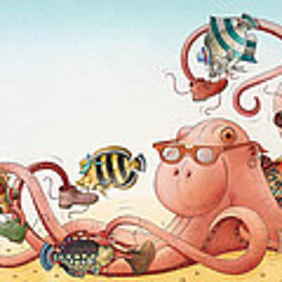 Underwater Story 05 Art Print