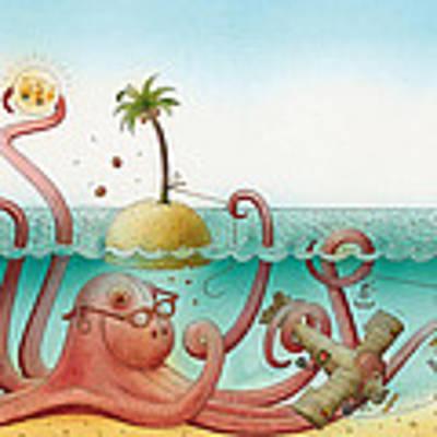 Underwater Story 06 Art Print