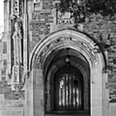 University Of Notre Dame Art Print
