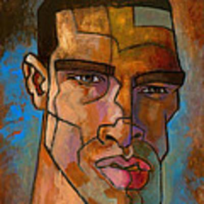 Untitled Male Head August 2012 Original by Douglas Simonson