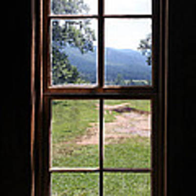 View From The Cabin Art Print by Todd Blanchard