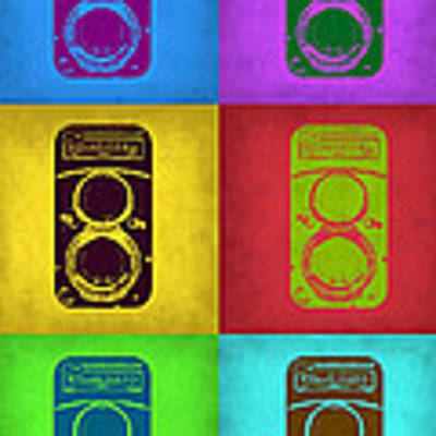 Vintage Camera Pop Art 2 Art Print by Naxart Studio
