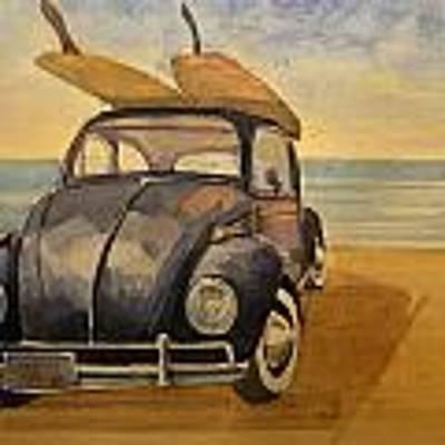 Volkswagen Beetle Original by Juan  Bosco