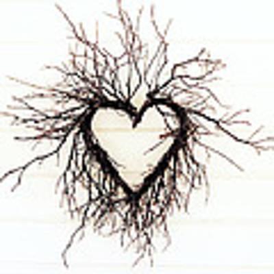Wild Heart Art Print by Lupen  Grainne