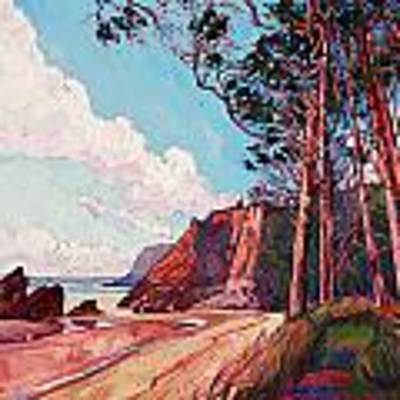 Winding Pines Original by Erin Hanson
