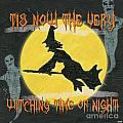 Witching Time Art Print
