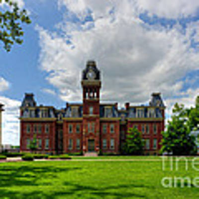 Woodburn Hall Early Afternoon Summer Day Art Print by Dan Friend