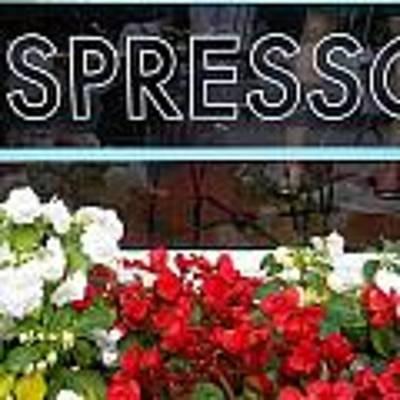 Espresso Art Print by Cynthia Amaral