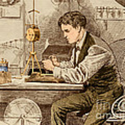 Thomas Edison  Art Print