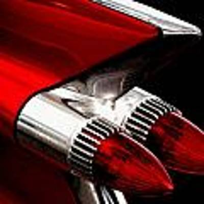 '59 Caddy Tailfin Art Print