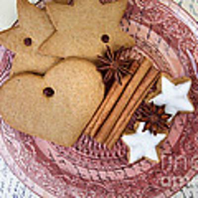 Christmas Gingerbread Art Print