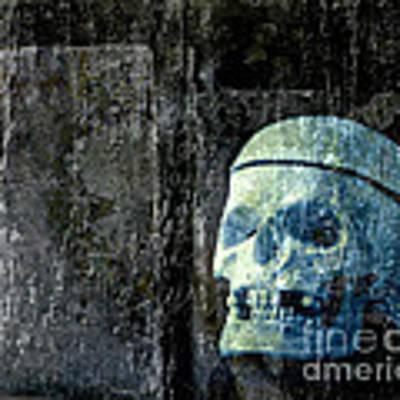 Ghost Skull Art Print