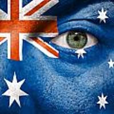 Go Australia Art Print