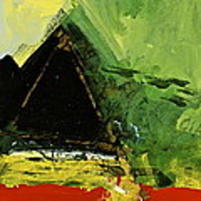 Golden Triangle Art Print by Cliff Spohn